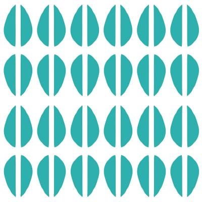 DiaNoche Designs Artist | Traci Nichole Design Studio - Cowrie Stripe Blue