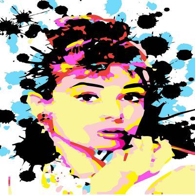 DiaNoche Designs Artist | Ty Jeter - Audrey Hepburn