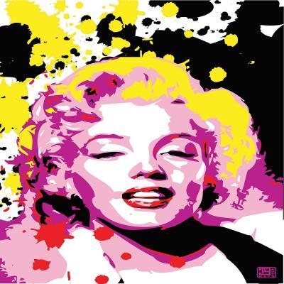 DiaNoche Designs Artist | Ty Jeter - Marilyn Monroe lV