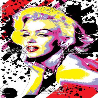DiaNoche Designs Artist | Ty Jeter - Marilyn Monroe V