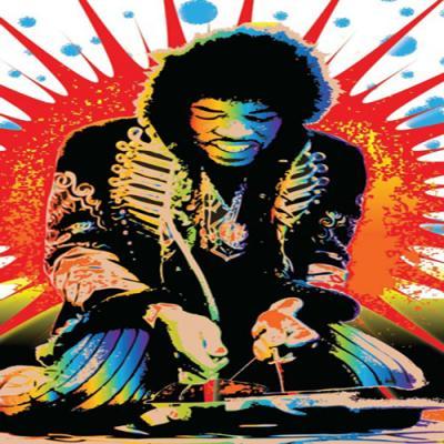 DiaNoche Designs Artist | Ty Jeter - Jimi Hendrix