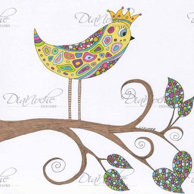 DiaNoche Designs Artist | Valerie Lorimer - Bird Talk