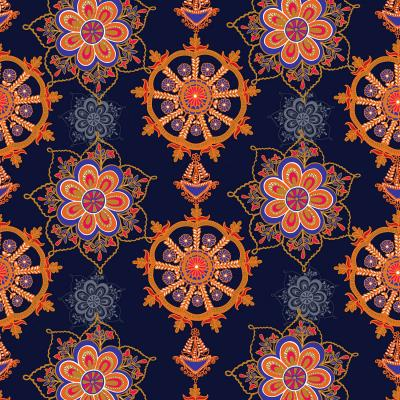 DiaNoche Designs Artist   Yasmin Dadabhoy - Boho Circle 3