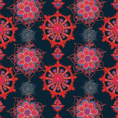 DiaNoche Designs Artist   Yasmin Dadabhoy - Boho Circle 4