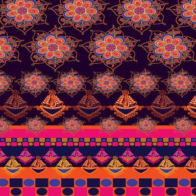 DiaNoche Designs Artist | Yasmin Dadabhoy - Boho Circle 1