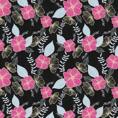 DiaNoche Designs Artist | Yasmin Dadabhoy - Flower Vine 1