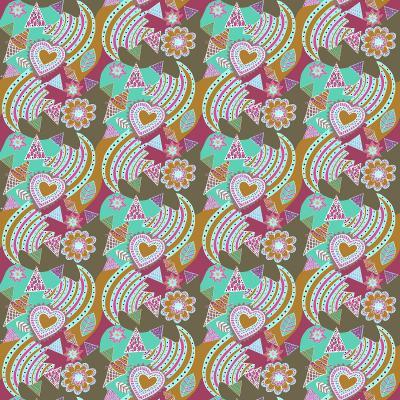 DiaNoche Designs Artist | Yasmin Dadabhoy - Popart Gold