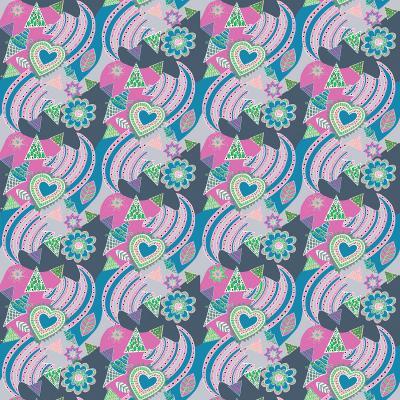 DiaNoche Designs Artist | Yasmin Dadabhoy - Popart Grey