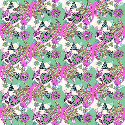DiaNoche Designs Artist | Yasmin Dadabhoy - Popart Pink