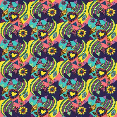DiaNoche Designs Artist | Yasmin Dadabhoy - Popart Yellow