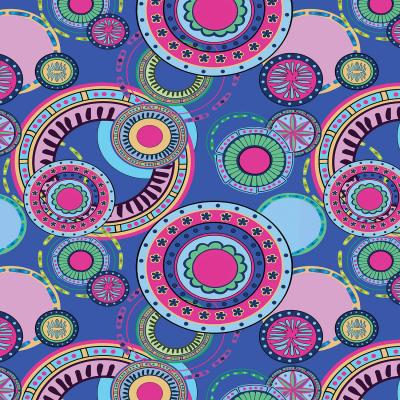 DiaNoche Designs Artist   Yasmin Dadabhoy - Truck Circles D