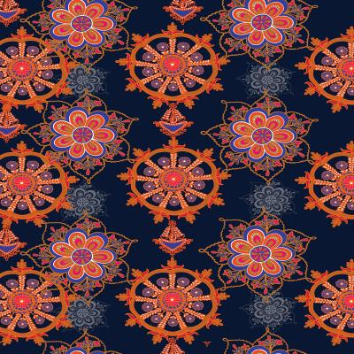 DiaNoche Designs Artist | Yasmin Dadabhoy - Boho Circle 2