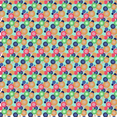 DiaNoche Designs Artist   Yasmin Dadabhoy - Circles 1