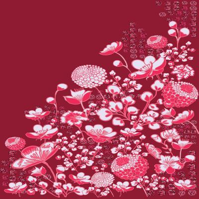 DiaNoche Designs Artist | Yasmin Dadabhoy - Floral Bed 4