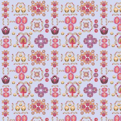 DiaNoche Designs Artist | Yasmin Dadabhoy - Pink Motifs