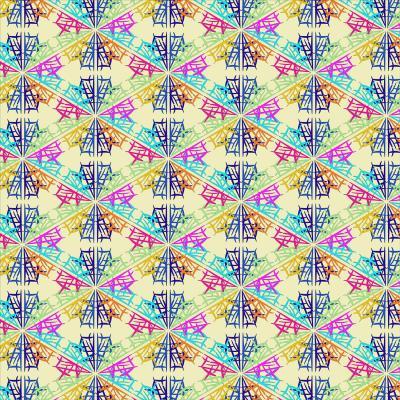 DiaNoche Designs Artist   Yasmin Dadabhoy - Snowflake Pattern 1