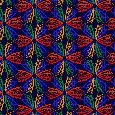 DiaNoche Designs Artist   Yasmin Dadabhoy - Snowflake Pattern 2