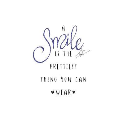 DiaNoche Designs Artist | Zara Martina - A Smile Blue Sparkle