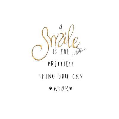 DiaNoche Designs Artist | Zara Martina - A Smile Gold Sparkle