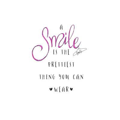 DiaNoche Designs Artist | Zara Martina - A Smile Pink Sparkle