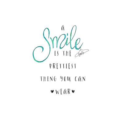 DiaNoche Designs Artist | Zara Martina - A Smile Turquoise