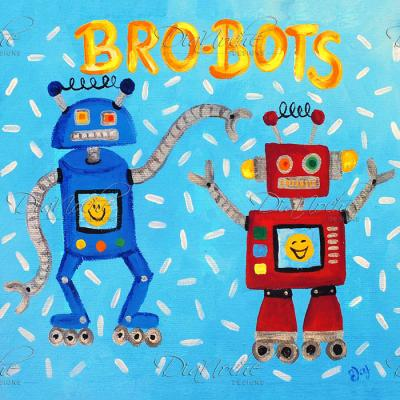 DiaNoche Designs Artist | nJoy Art - Brobots