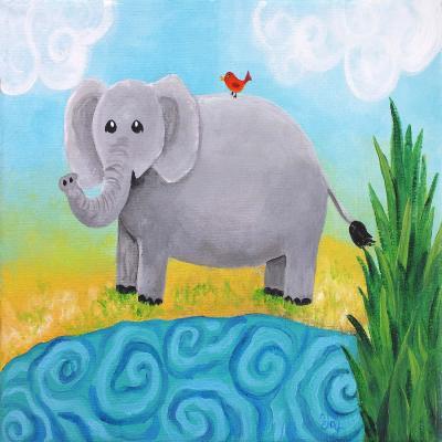 DiaNoche Designs Artist | nJoy Art - Elephant