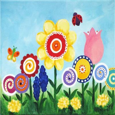 DiaNoche Designs Artist | nJoy Art - Flower Garden