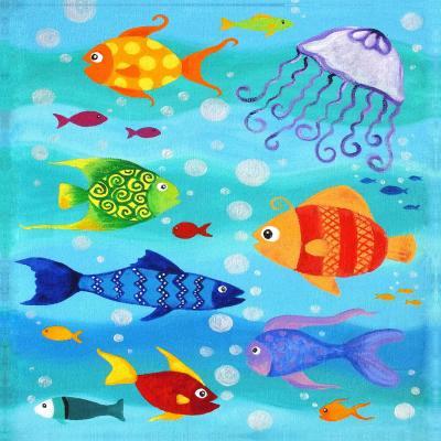 DiaNoche Designs Artist | nJoy Art - Happy Fish I