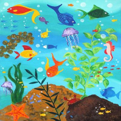 DiaNoche Designs Artist | nJoy Art - Happy Fish III