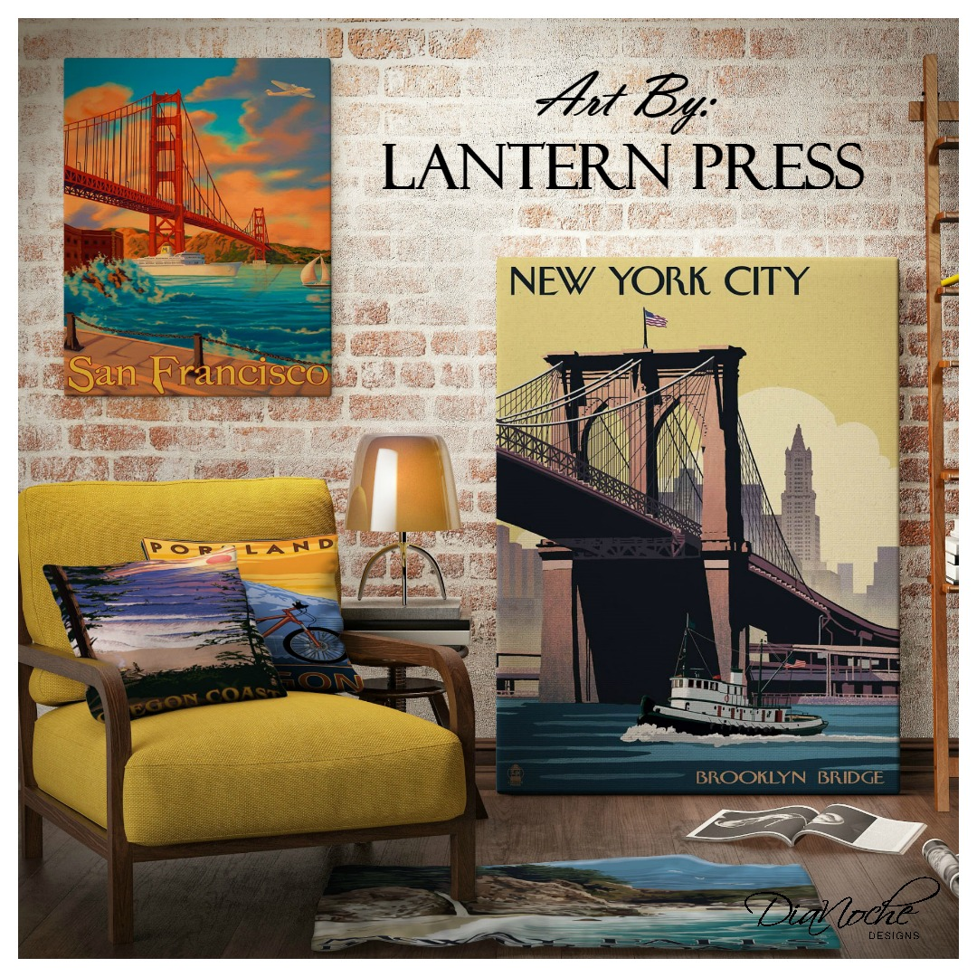 DiaNoche Designs Featured Artist: Lantern Press