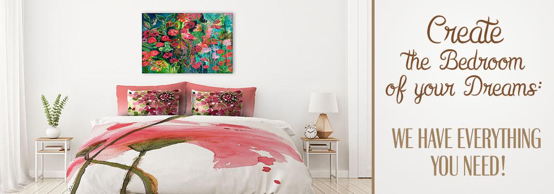 Unique Bedroom Decor Duvet Covers Pillows